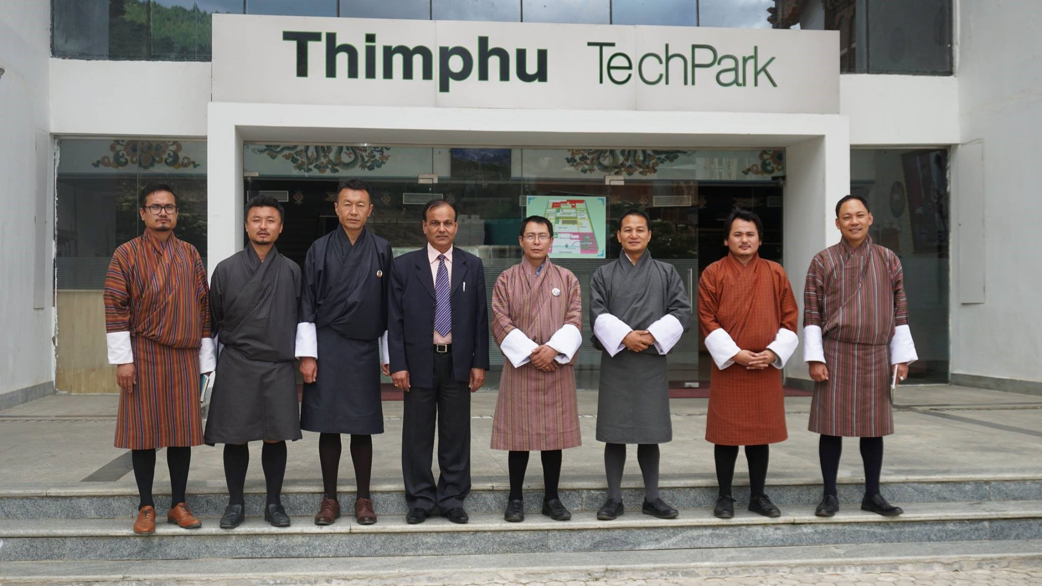Visit to Tech Park, Thimphu