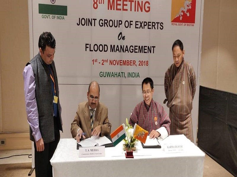 8th Meeting of the Joint Group of Experts (JGE) on Flood Management between Royal Government of Bhut