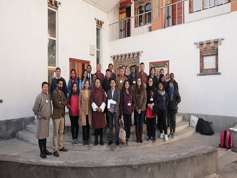 Australia Awards Regional Alumni participants' visited National Center for Hydrology and Meteorology