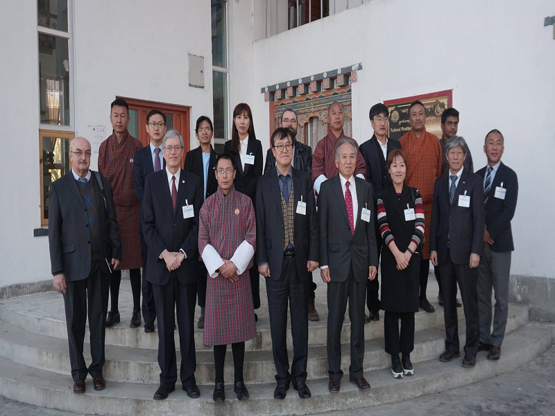 WMO Working Group for Hydrological Services of RA-II visited NCHM office and facilities, November 26